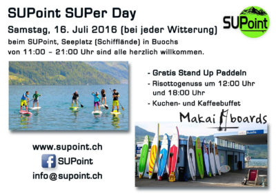 SUPoint Event Buochs